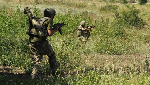 Боевики жестко получили по зубам под н.п. Крымское
