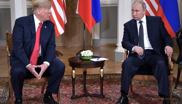 «Восстановленная» стенограмма пресс-конференции Путина и Трампа