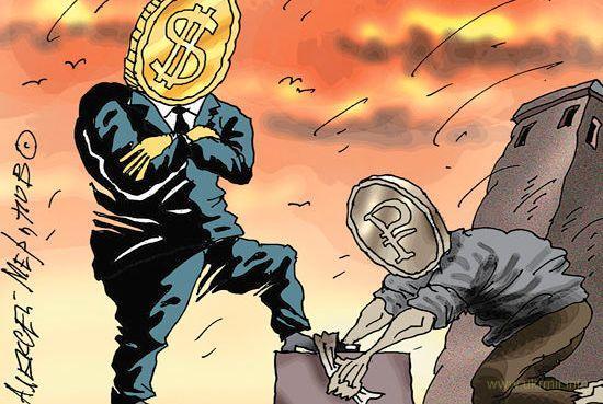 Курс доллара в обменниках Московии уже достиг 70