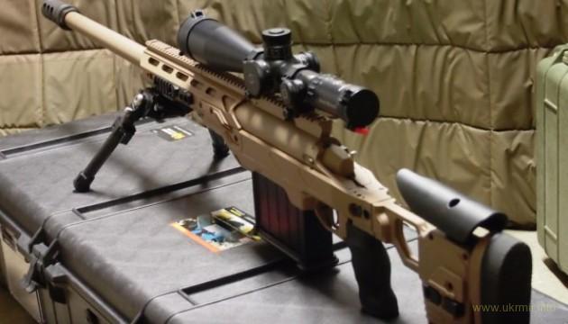 Армія отримає канадські снайперські гвинтівки на майже мільйон доларів