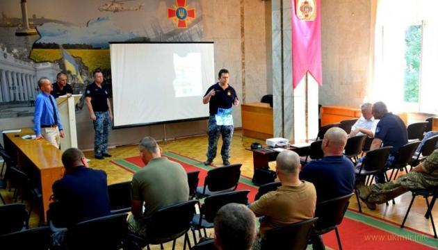 Одесса - рабочая встреча украинских и иностранных военных специалистов