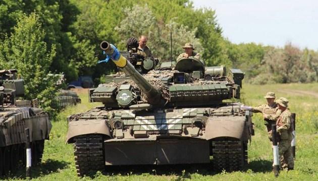 «Драйвові» стрільби українських танкістів