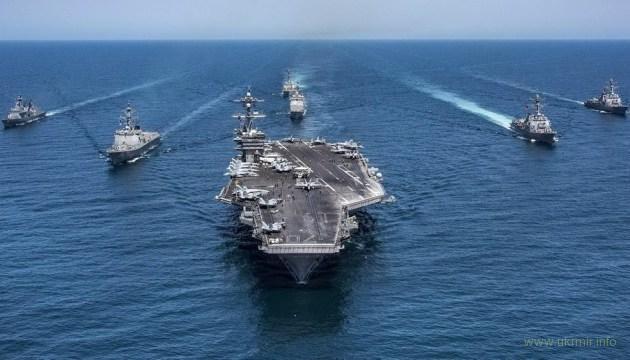 В Средиземноморье вошла авианосная группа ВМС США