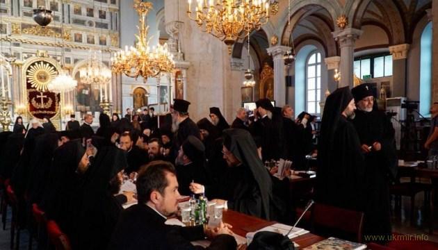 Синакс у Стамбулі: Константинопольська церква може самостійно надавати автокефалію