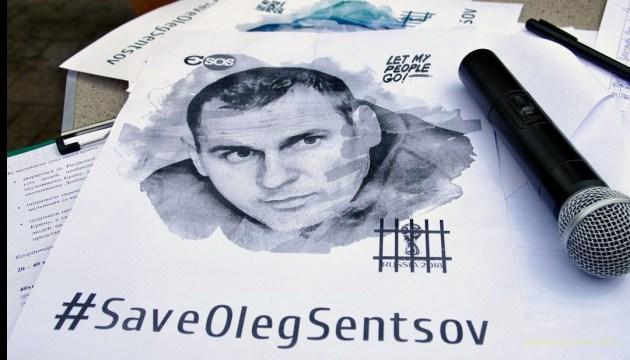 Сенцов пишет сценарий для фильма про тюрьму