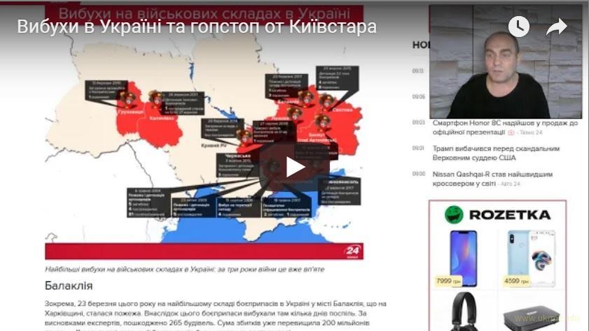 Вибухи в Україні та гопстоп від Київстара