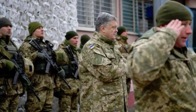 Порошенко анонсував передачу армії тисяч нових зразків зброї