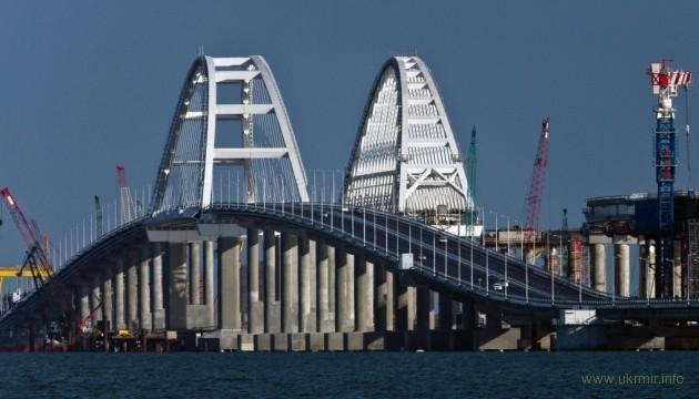 У оккупантов появились новые проблемы с Крымским мостом