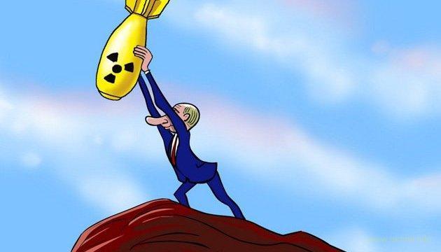 Путин угрожает миру своими баллистическими ракетами