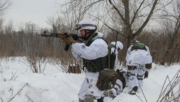 ООС: четыре оккупанта уничтожено, трое получили ранения
