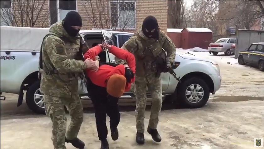 На Донеччині в районі ООС затримано бойовика