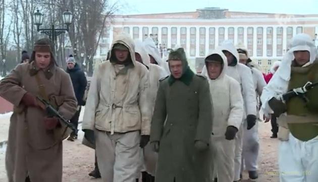 В Великом Новгороде состоялось шествие «пленных немцев»