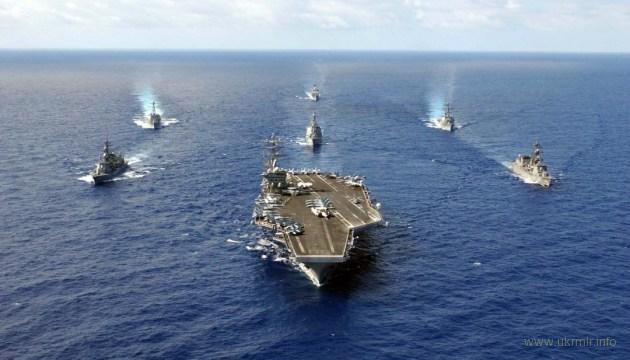 Военные корабли США внезапно появились у берегов РФ
