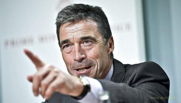 Экс-генсек НАТО Расмуссен как и Пауло Коельо не поддерживал Йулю