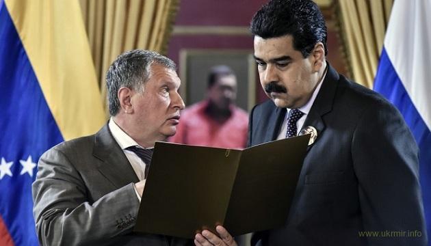 Майдан в Венесуэле обрушил стоимость Роснефти