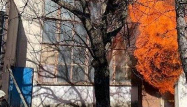 В оккупированом Симферополе сгорел завод пластмасс