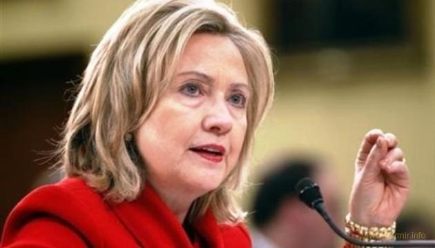 "Клинтон назвала выход США из ДРСМД ""подарком"" для Путина"