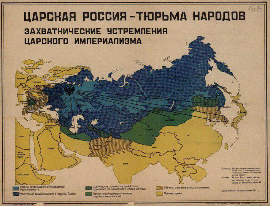 Сто лет прошло, а политика россии была имперской и осталась