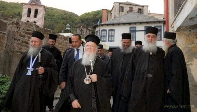 Афон поддержал Варфоломея против РПЦ из-за Украины