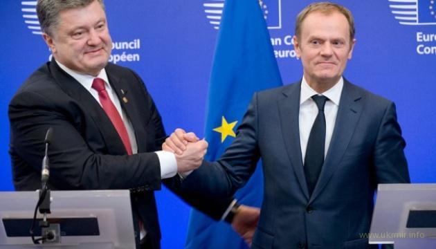 Порошенко и Туск провели встречу в Киеве