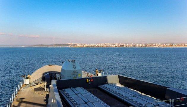 Американский эсминец Donald Cook направляется в Одессу
