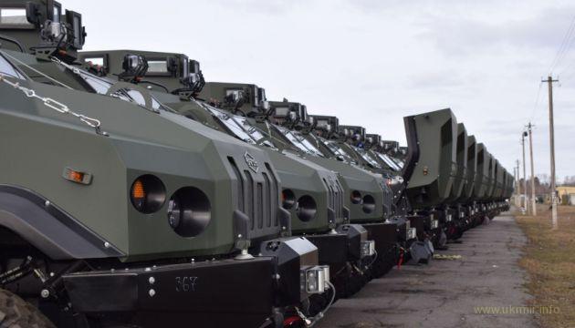 """Морська піхота України отримала сучасні бронеавтомобілі """"Варта"""""""