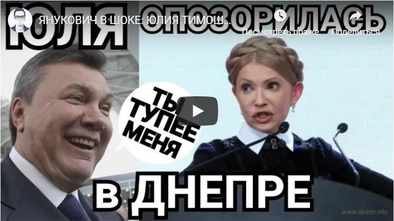 Тимошенко платит титушкам за разгон протестующих против нее
