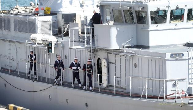 Очередной корабль НАТО зашел в Одессу