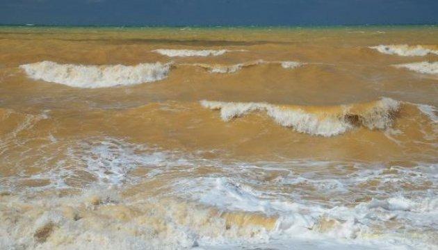 Загрязнение оккупантами Черного моря на Крыме