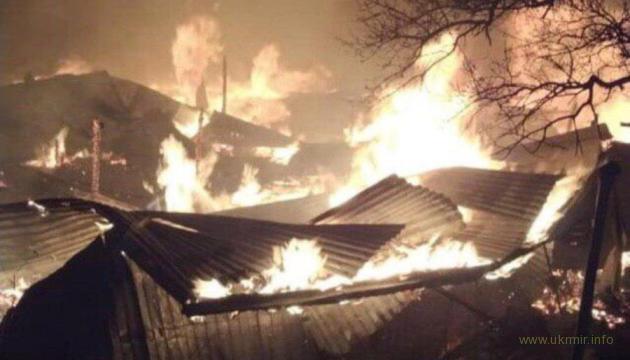 В Дагестанском селе загорелись 15 домов