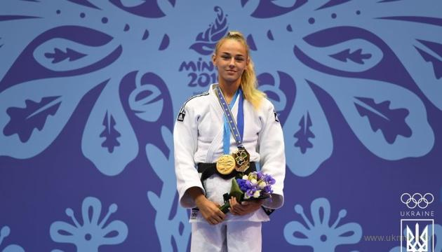 Украинская красавица дзюдоистка победила россиянку и сербку на Европейских играх-2019