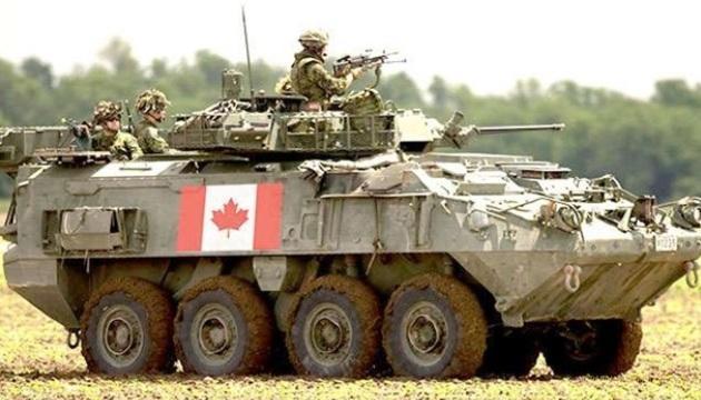 Украина и Канада договорились о поставках бронетехники
