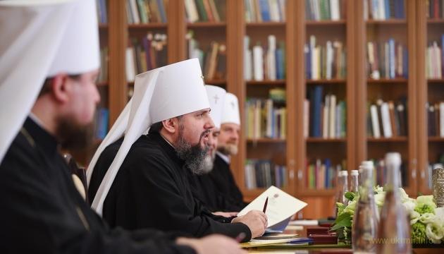Синод ПЦУ закликав посилити санкції проти РФ за насильство російських окупантів проти церкви