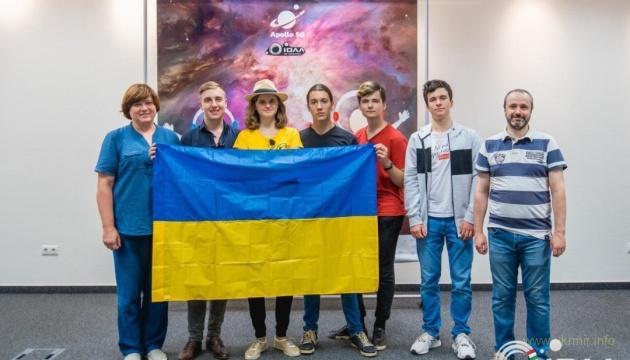 Українські школярі вибороли дев'ять медалей на наукових олімпіадах