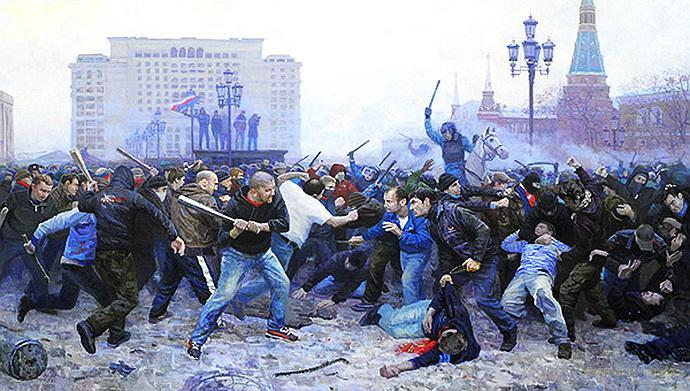 Ежесубботняя битва за Москву