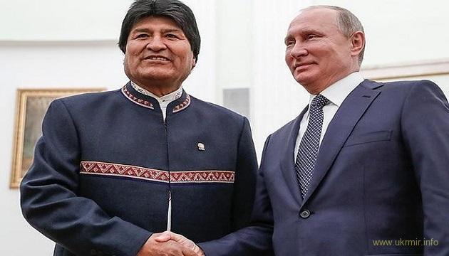 Президент Боливии объявил о своей отставке и сбежал из столицы