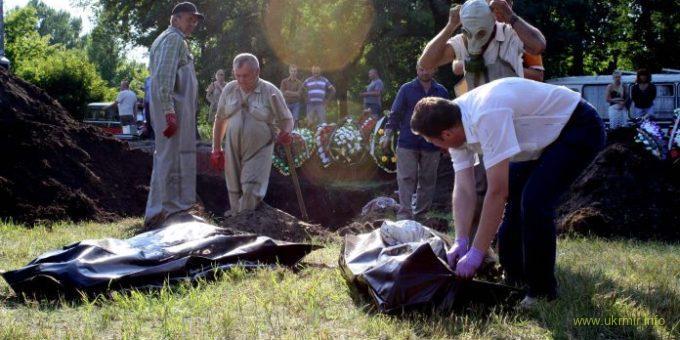 Массовые казни украинцев русскими оккупантами и пособниками