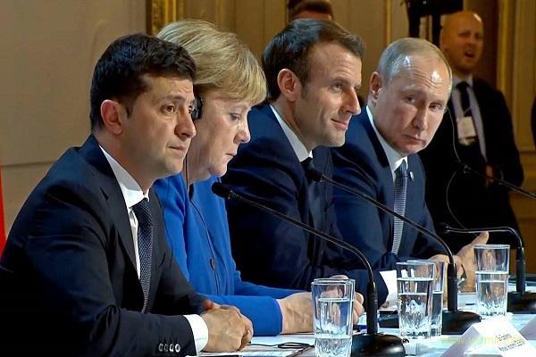 Заметки на полях парижского саммита нормандской четверки