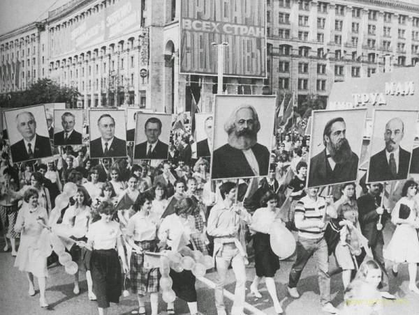 Первого мая 1986 года совдепия на парадах облучила радиацией огромное количество населения