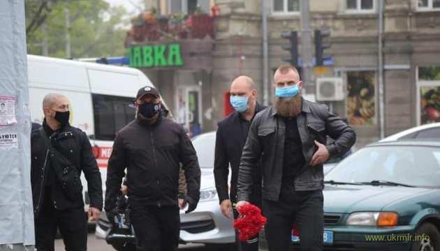 Слуги уродів вшановують пам'ять тих, хто піднімав над Одесою прапор РФ