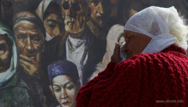 Сьогодні Україна вшановує пам'ять жертв депортації корінного народу Криму