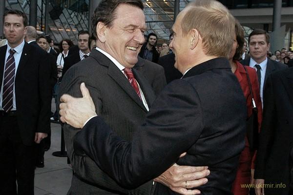 Харчующийся от кремля Шредер пожелал РФ отмены санкций, а Украине стать федерацией