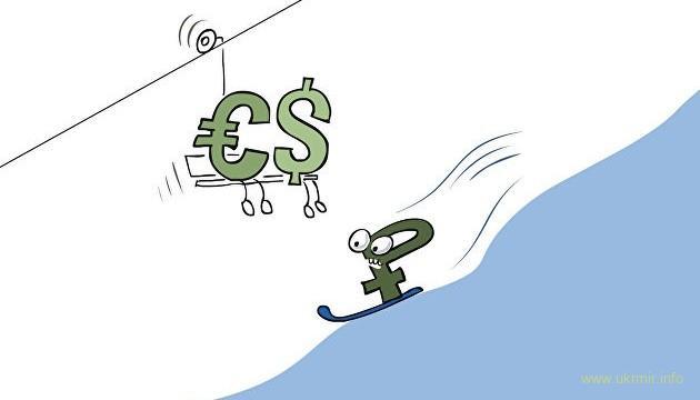 На пользу же: Российские банки потеряли треть запасов валюты
