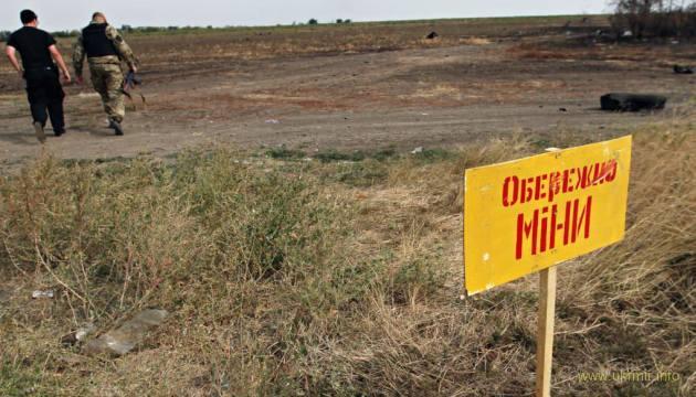 Неповнолітня дівчина втекла з окупованого Донбасу через мінне поле