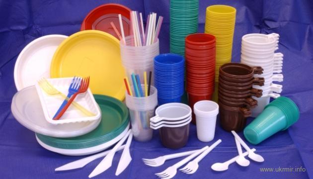 В странах ЕC вводится запрет на торговлю одноразовой пластиковой продукцией