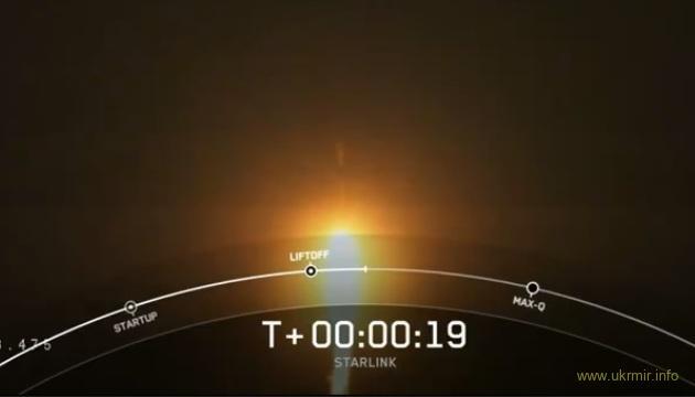 SpaceX запустила в космос ще одну групу інтернет-супутників Starlink